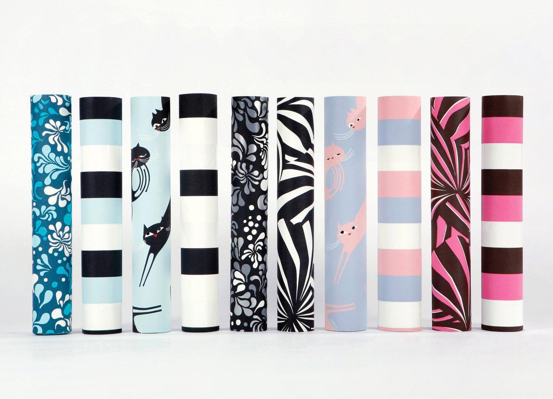 Les rouleaux de papiers peints de la collection Phosphowall design IchetKar