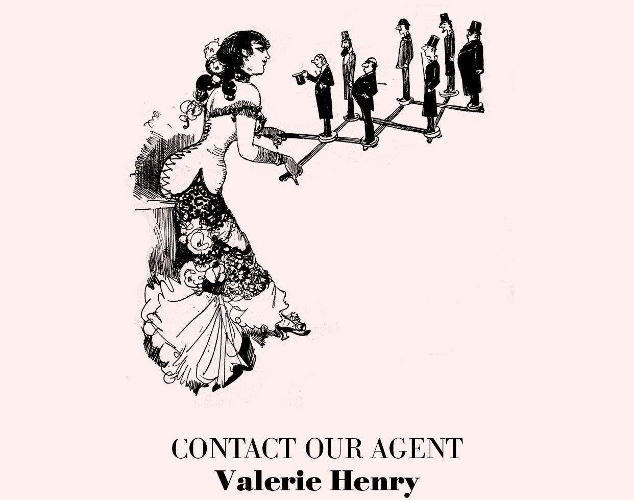 Contact Agent - Valerie Henry - +33 1 42 74 47 09