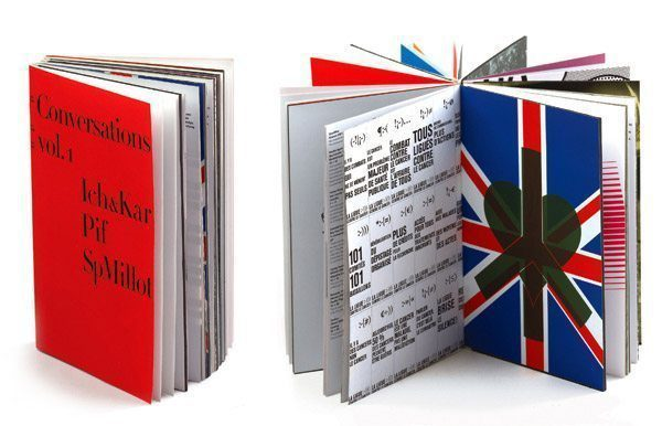 livre conversations - édition pyramyd - design ichetkar