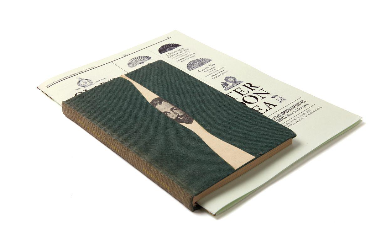 parlour sketch menu vert surrealiste livre