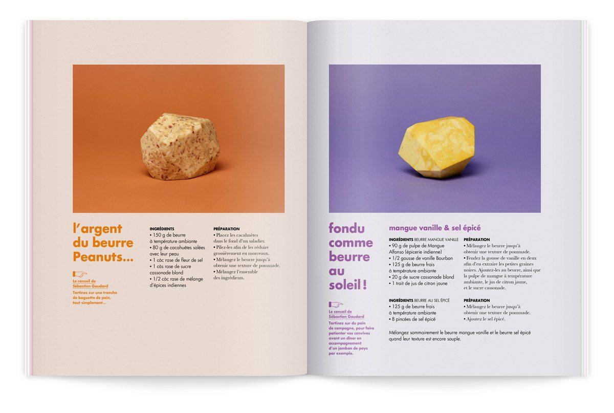 bloc notes 5 le beurre milk factory catalogue intérieur recettes de beurre par sébastien gaudard photo tania et vincent ichetkar