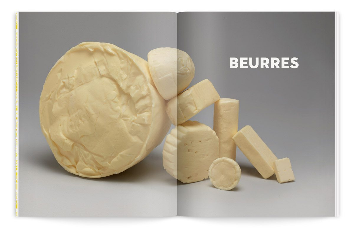 bloc notes 5 le beurre milk factory catalogue intérieur photo tania et vincent ichetkar