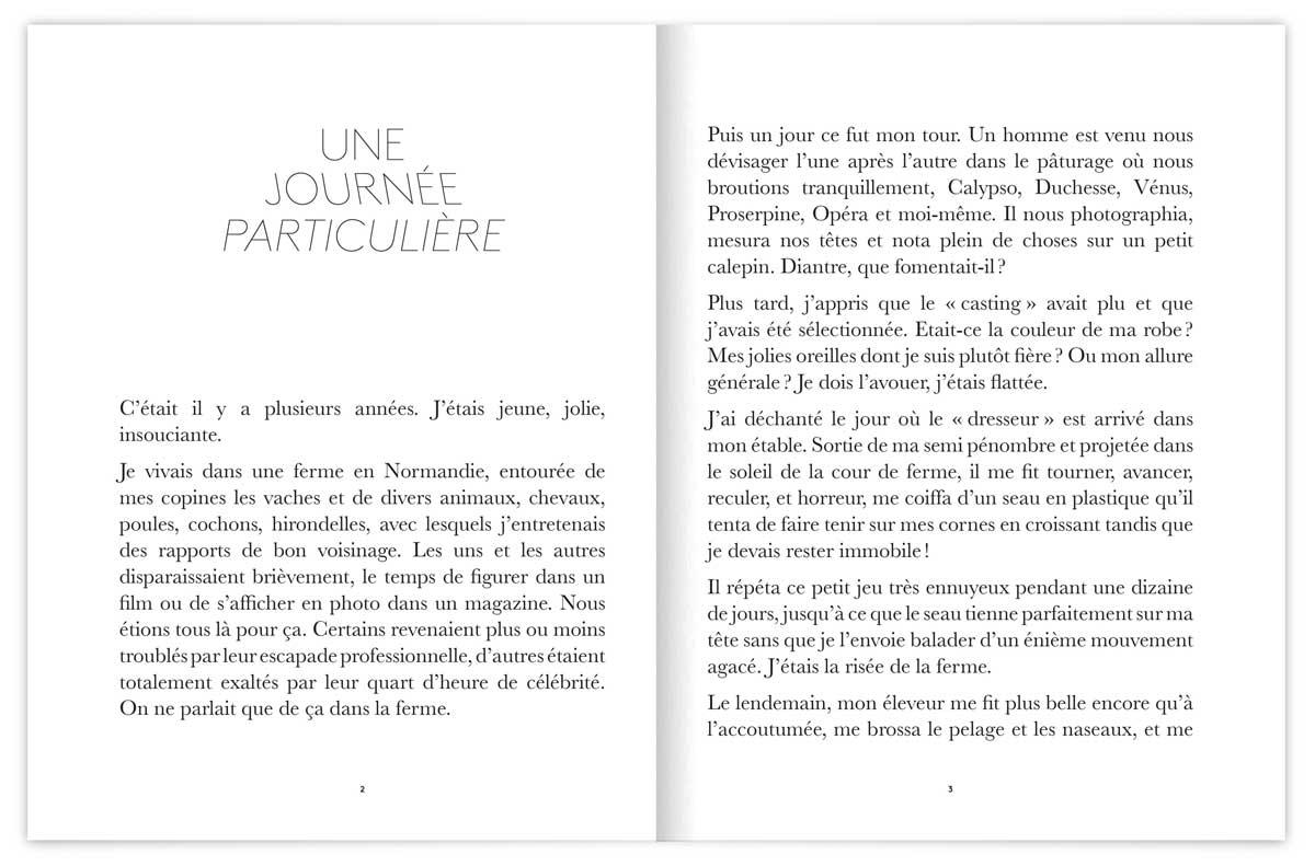 un journée particulière, texte de Claude Deloffre