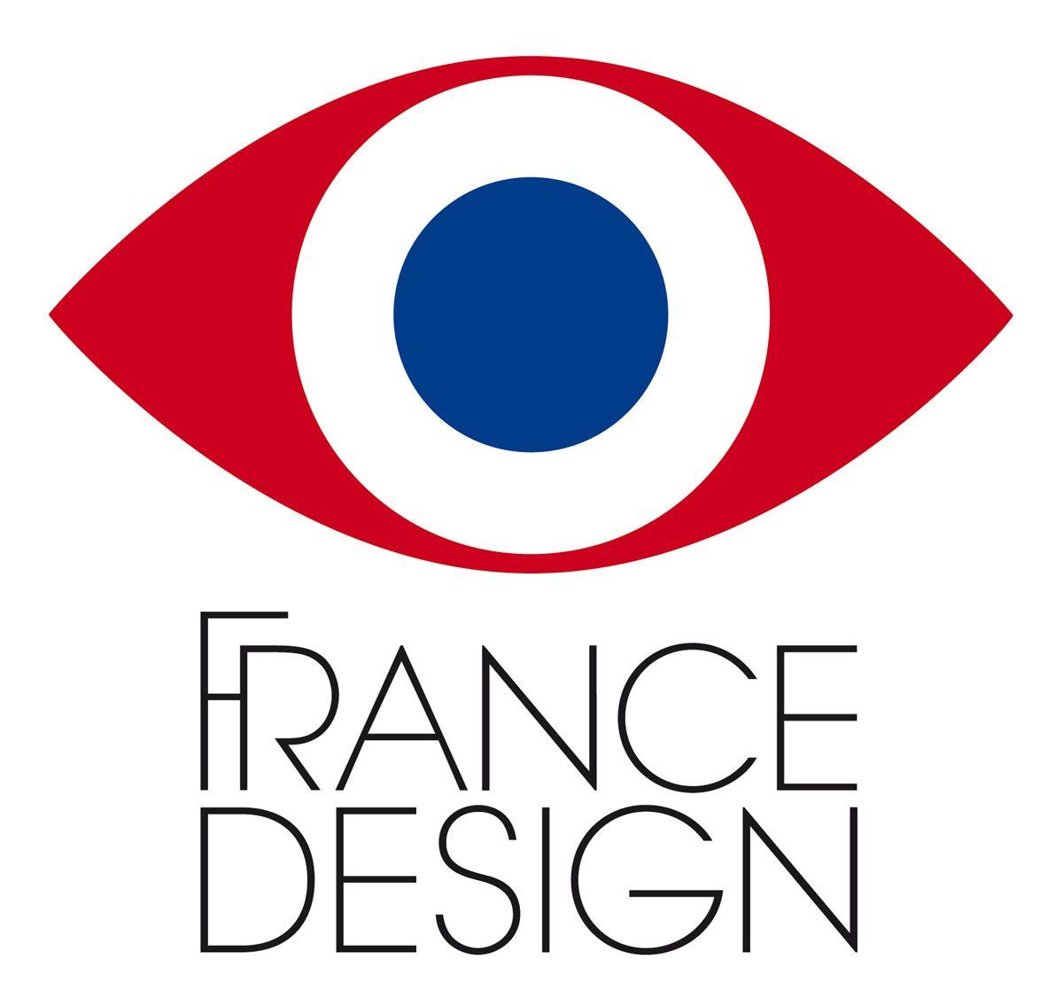 Identité visuelle de France Design, un oeil tricolore, une nouvelle cocarde pour la création française à Milan, design Ich&Kar