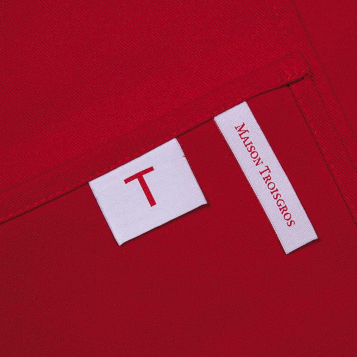 Etiquette du torchon Troisgros, hôtel et restaurant étoilé, identité visuelle Ich&Kar