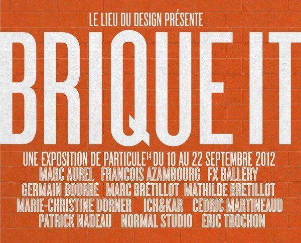 Exposition Brique It au Lieu Du Design, Ich&Kar intègre l'association culturel et éducative Particule14