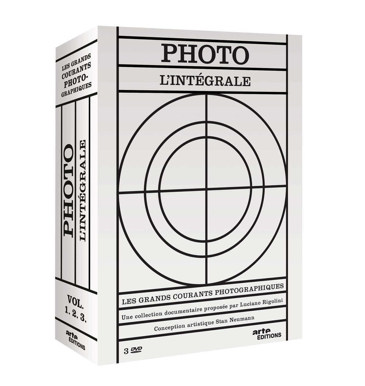 coffret integrale photo d'arte