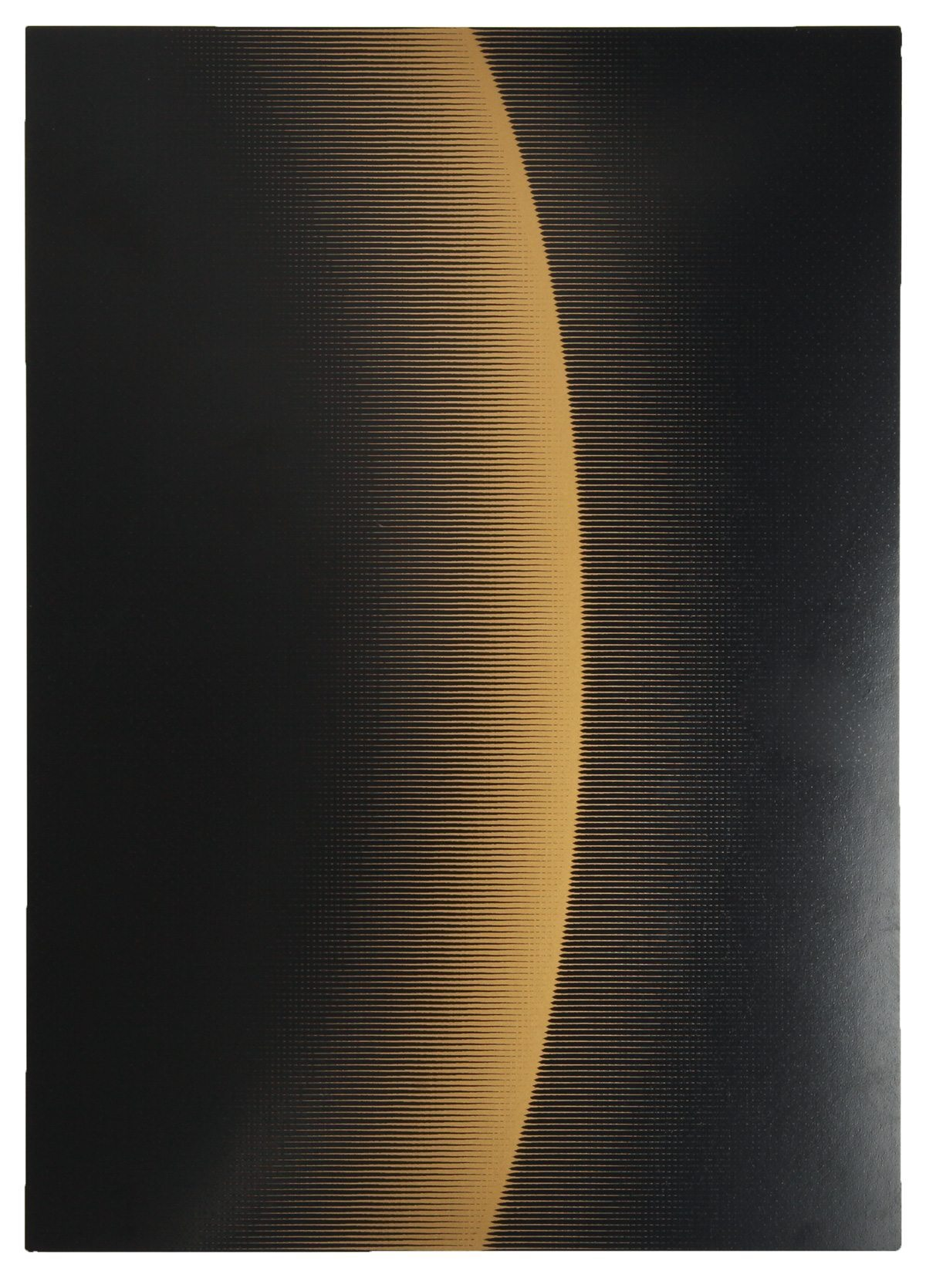 Carton d'invitation de l'exposition Lumières Célestes, à la ToolsGalerie, Paris. Design Ich&Kar.