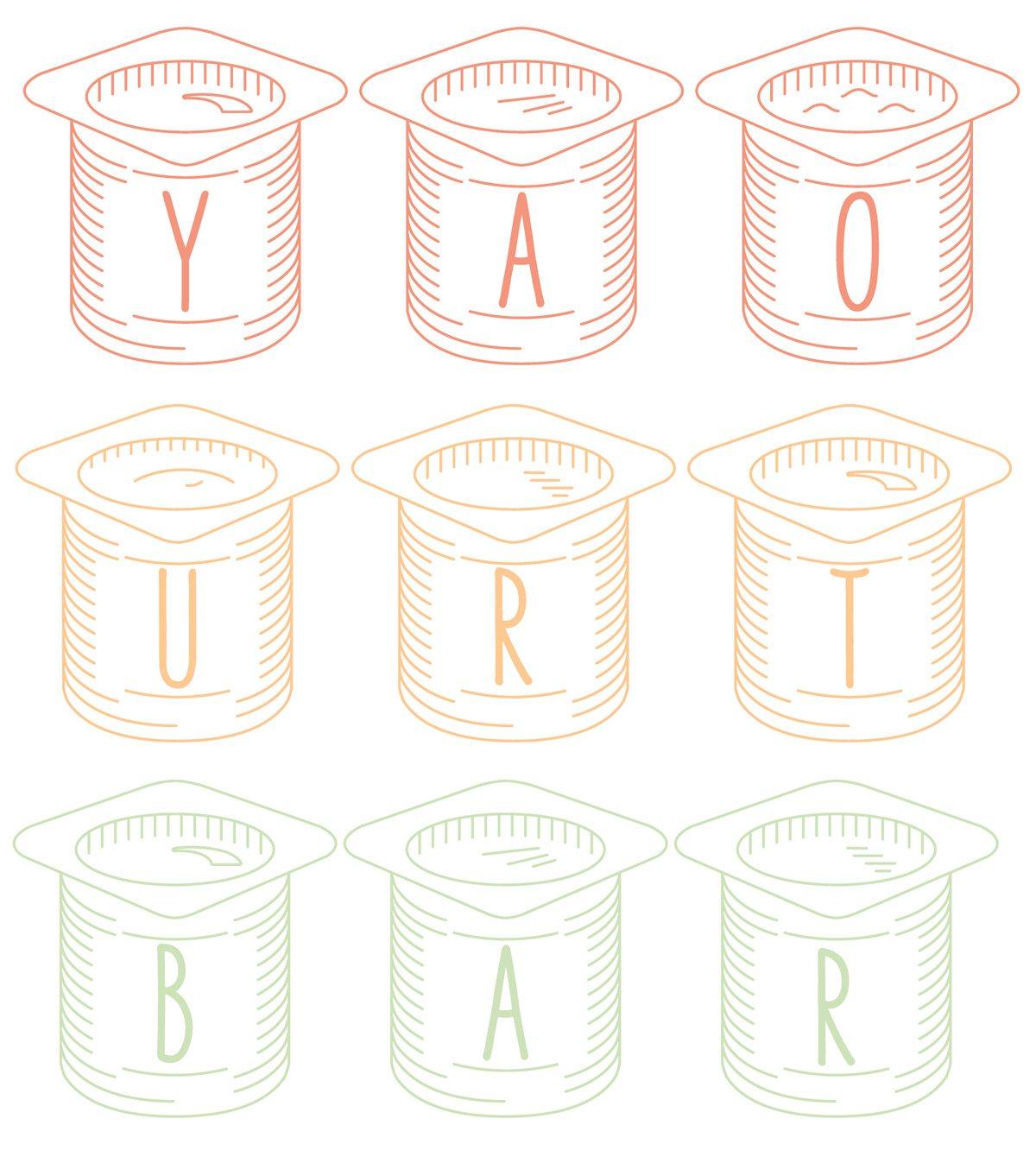 L'exposition Yaourt Bar à la Milk Factory, des recettes gourmandes autour du yaourt, une ambiance haute en couleurs signée Ich&Kar