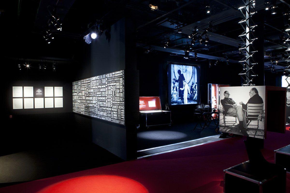 musique et cinéma exposition à la cité de la musique scénographie exposition