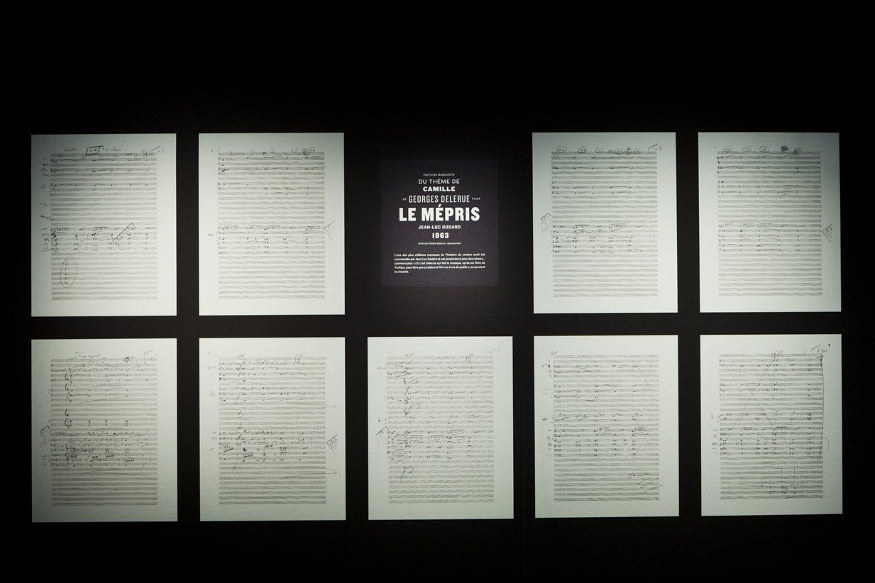 musique et cinéma exposition à la cité de la musique scénographie