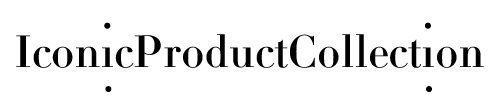 IPC, identité visuelle de la nouvelle maison d'édition d'objets design, Iconic Product Collection, design Ich&Kar.