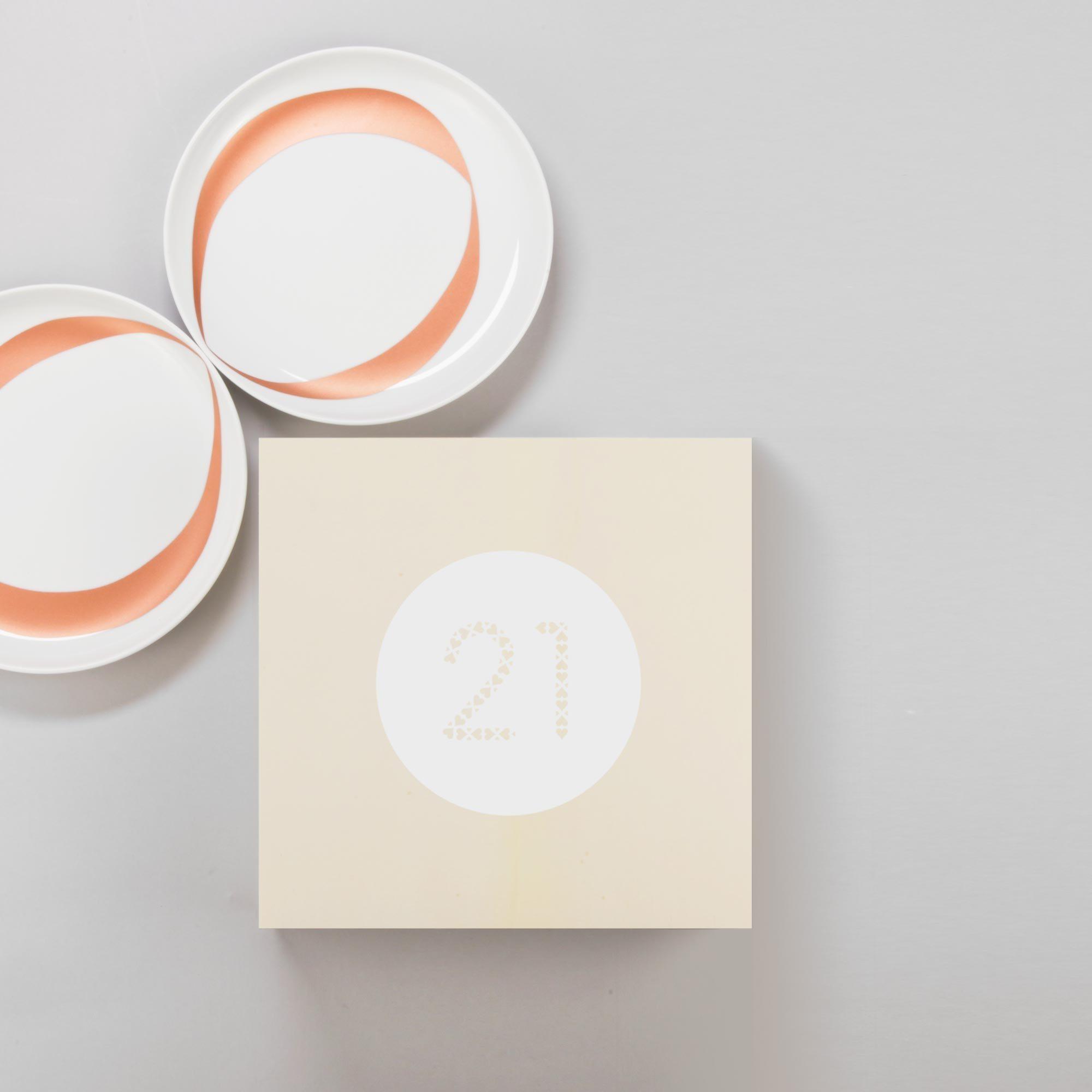 designerbox 21 assiettes saitn valentin par ichetkar
