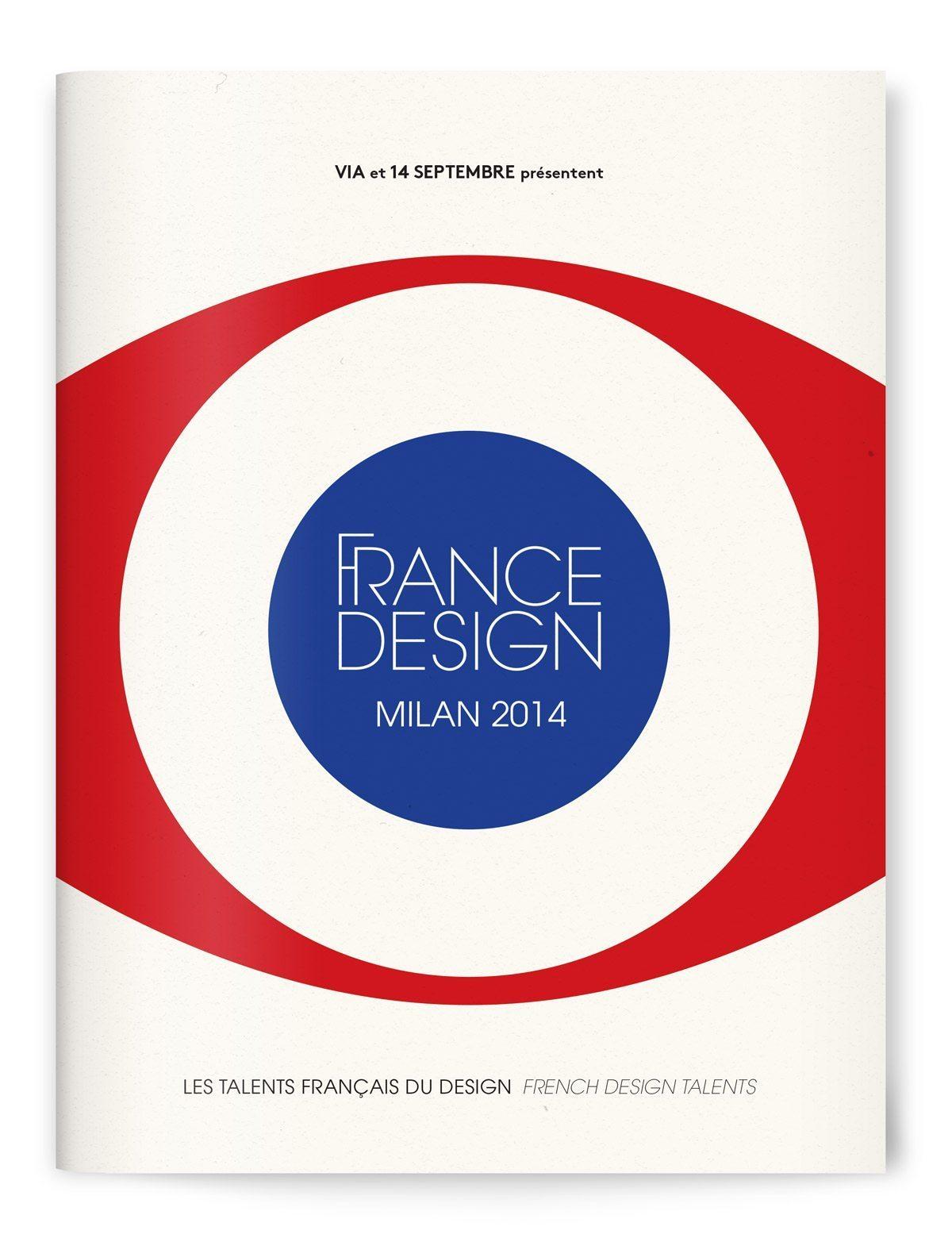 Catalogue France Design à Milan, signé Ich&Kar. Cet événement rassemble les principaux acteurs du design français dans le cadre de la programmation du Off de la semaine milanaise du design