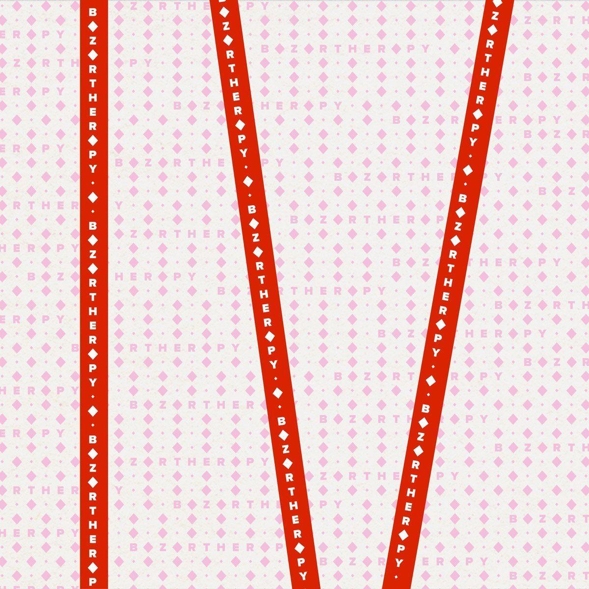 Emballage, rubans sur jolie papier pour l'identité visuelle de Bazartherapy, design Ich&Kar.