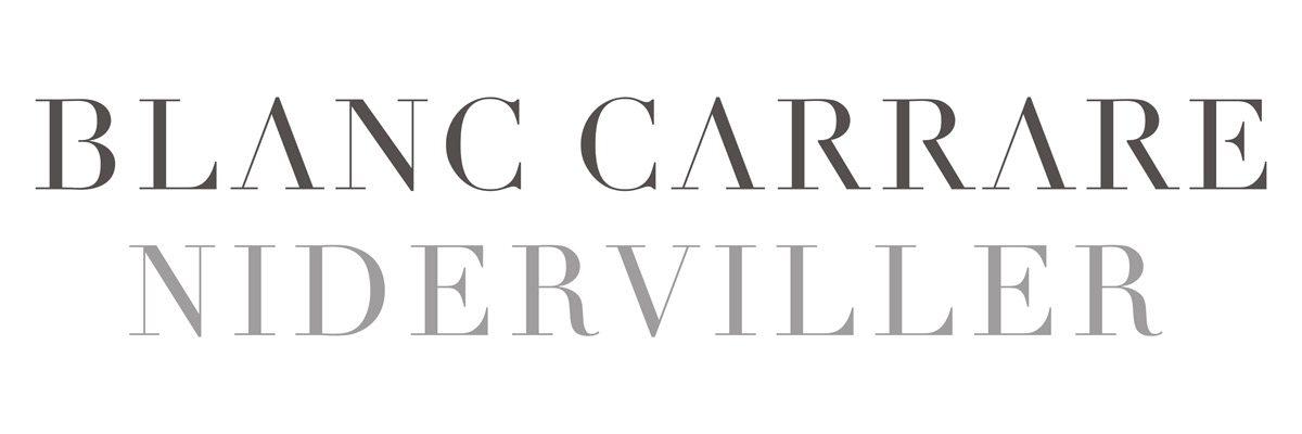 Identité visuelle du marbrier Blanc Carrare signée Ich&Kar
