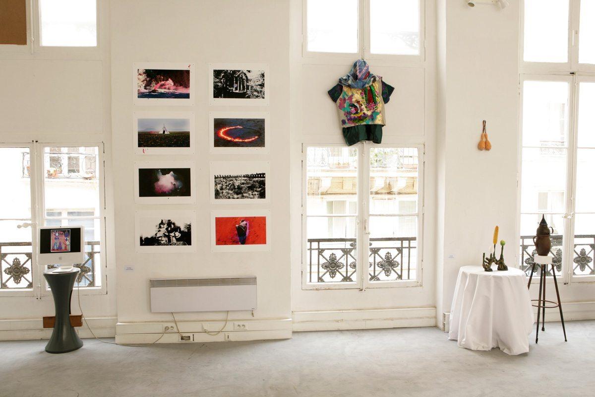 Exposition La bande de Mexico, Paris Design Week 2014, avec Ich&Kar, Emmanuel Picault et autres, au restaurant le Derrière