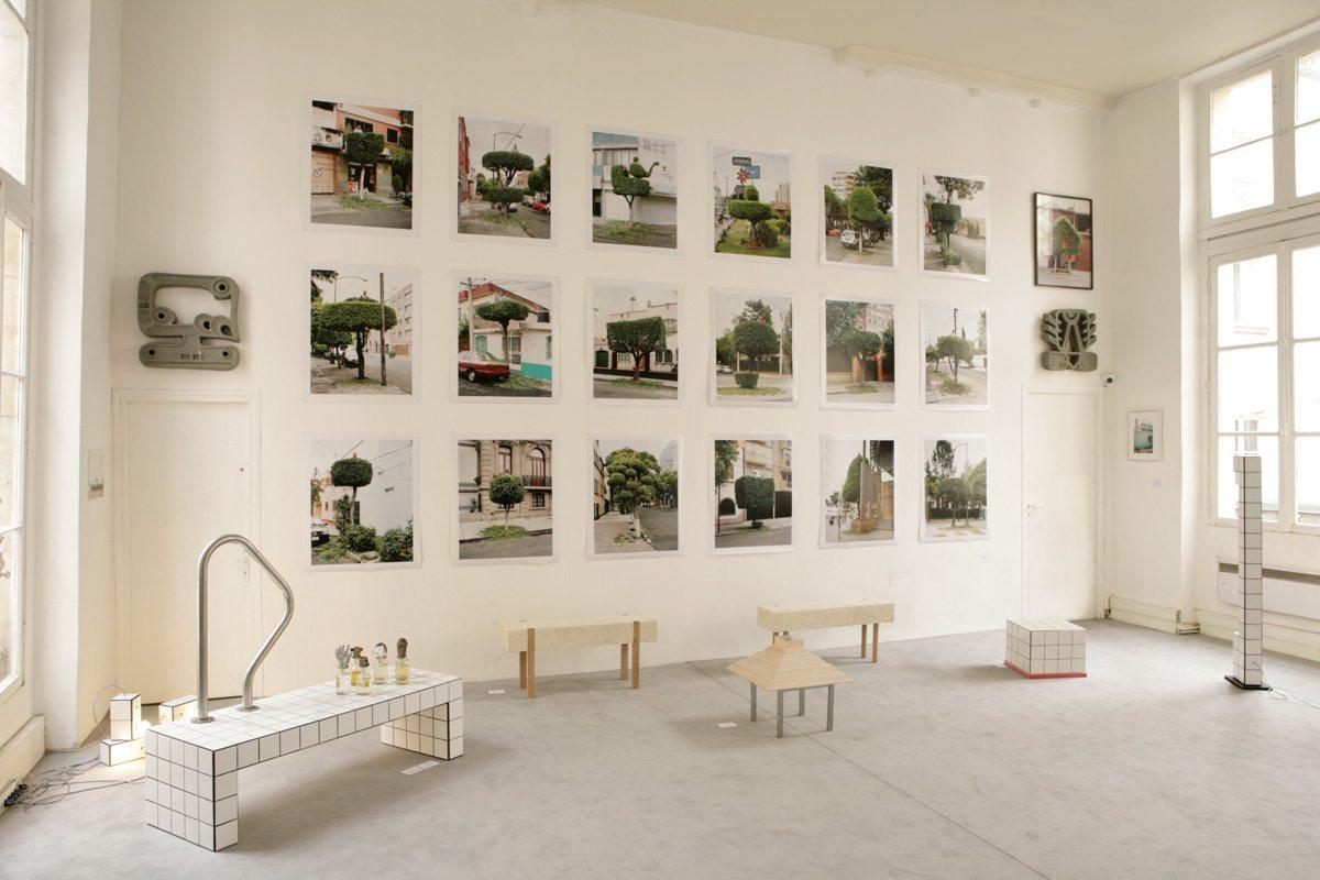 Exposition La bande de Mexico, avec Ich&Kar, Paris Design Week 2014, photographie d'Erwan Fichou, restaurant Le Derrière