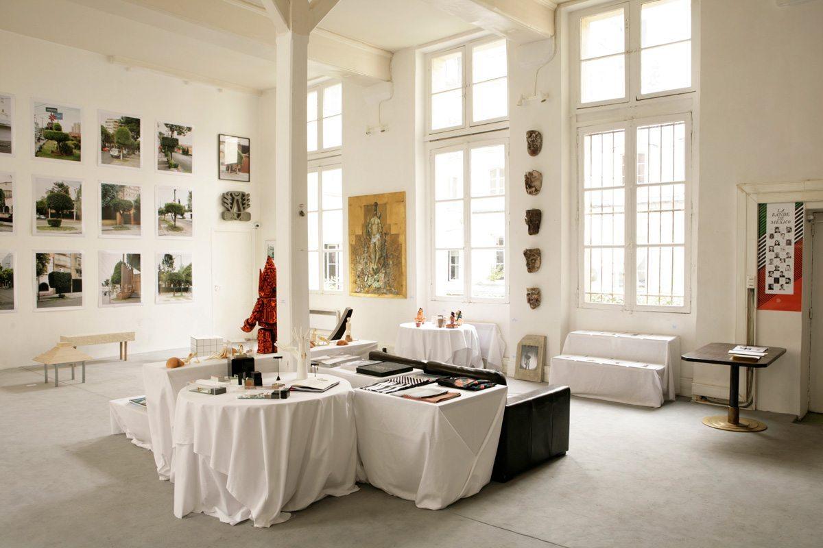 Exposition La bande de Mexico avec Ich&Kar, Paris Design Week 2014, restaurant Le Derrière