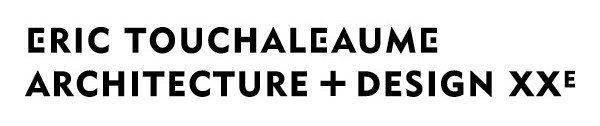 identité logotype moderniste erictouchaleaume architecture+design XXe