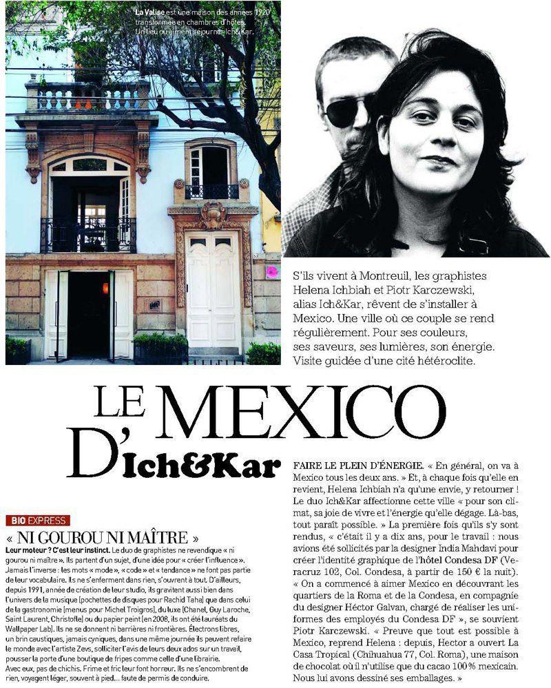 le mexico d 39 ich kar dans maison fran aise magazine ichetkar. Black Bedroom Furniture Sets. Home Design Ideas