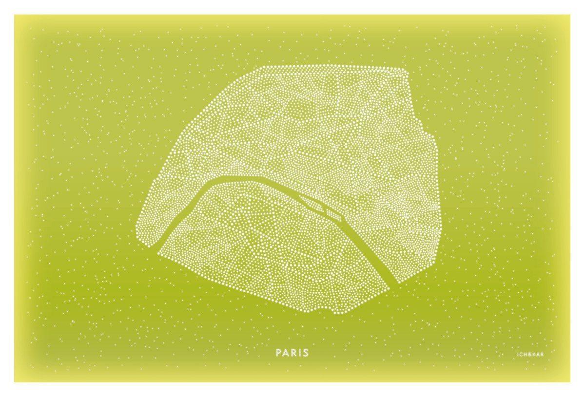 Le panneau lumineu de Paris pour la tour ERDF, design IchetKar