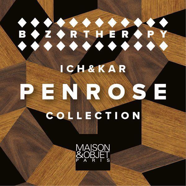 La collection Penrose de Ich&Kar, sur le stand de Bazartherapy, au Salon Maison et Objets Paris 2015