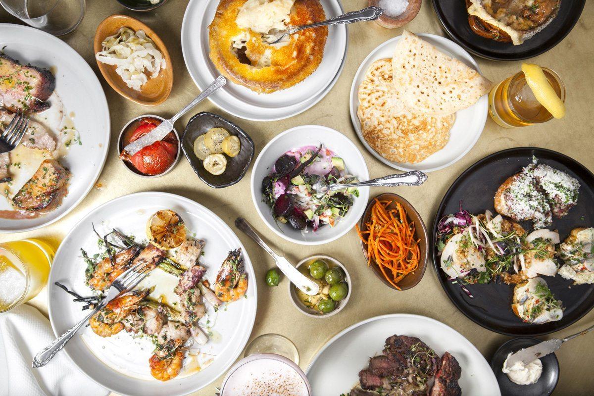 Photo de differents plats cuisinés par le chef Kris Tominaga, au restaurant Cadet de Los Angeles. Restaurant Cadet at Los Angeles. Photo of the food proposed by chef Kris Tominaga.