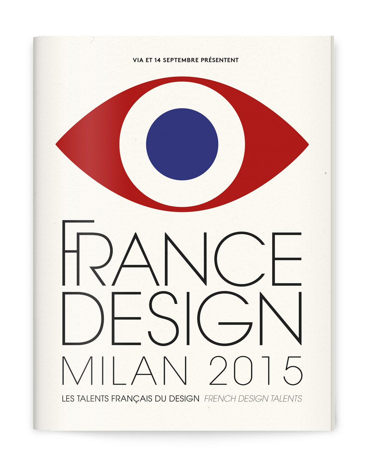 France Design 2015 couverture catalogue design ich&kar