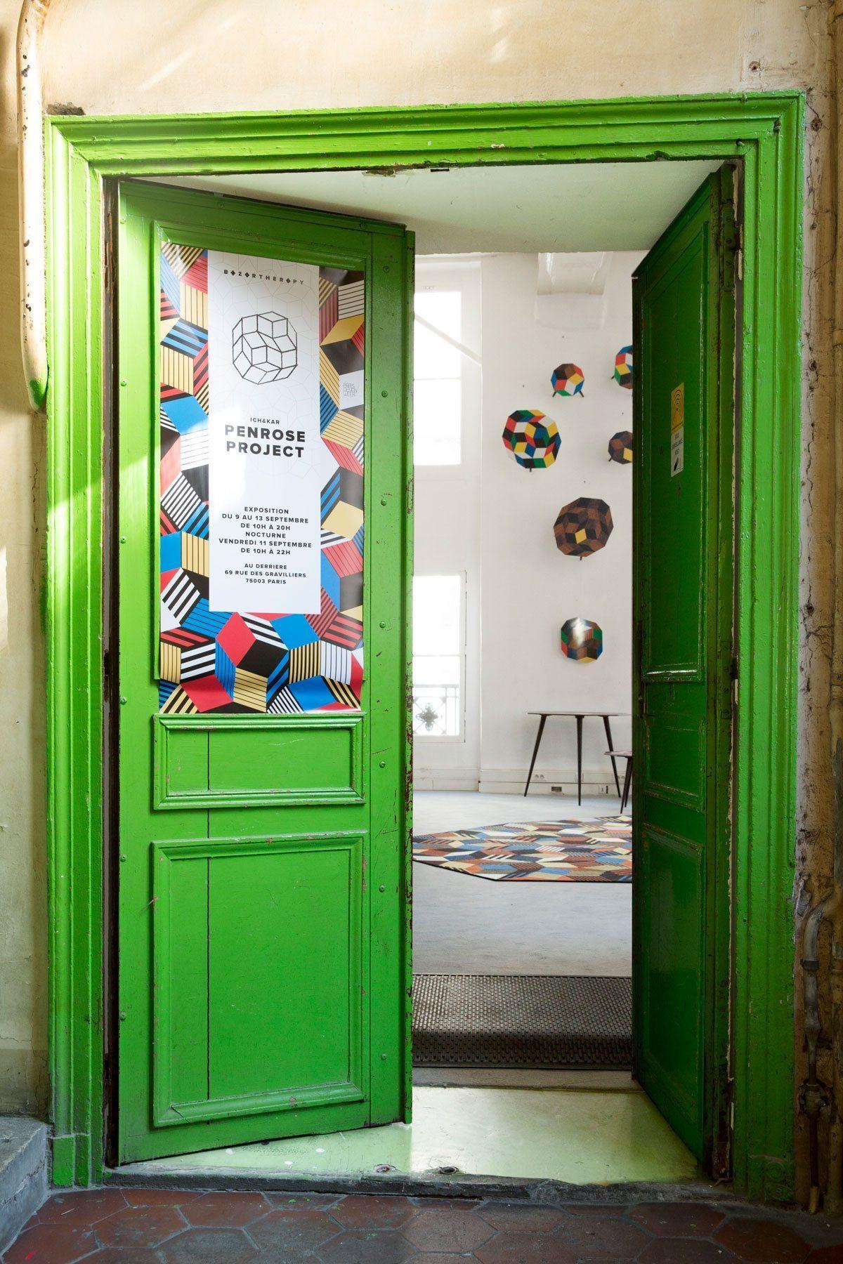 Exposition Penrose Project ouverture, Ich&Kar - Bazartherapy, Paris Design Week 2015, restaurant Le Derrière