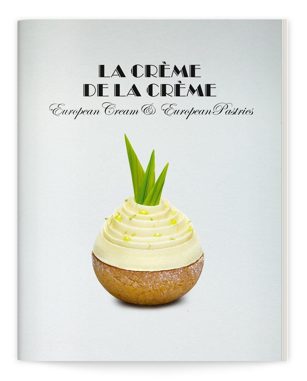 Catalogue La crème de la crème, chou praliné ananas de Julien Alvarez, Milk Factory