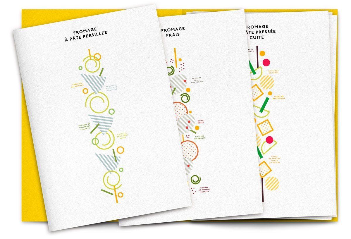 Portefolio fromage 8 recettes de Valentin Neraudeau illustrées par Ich&Kar