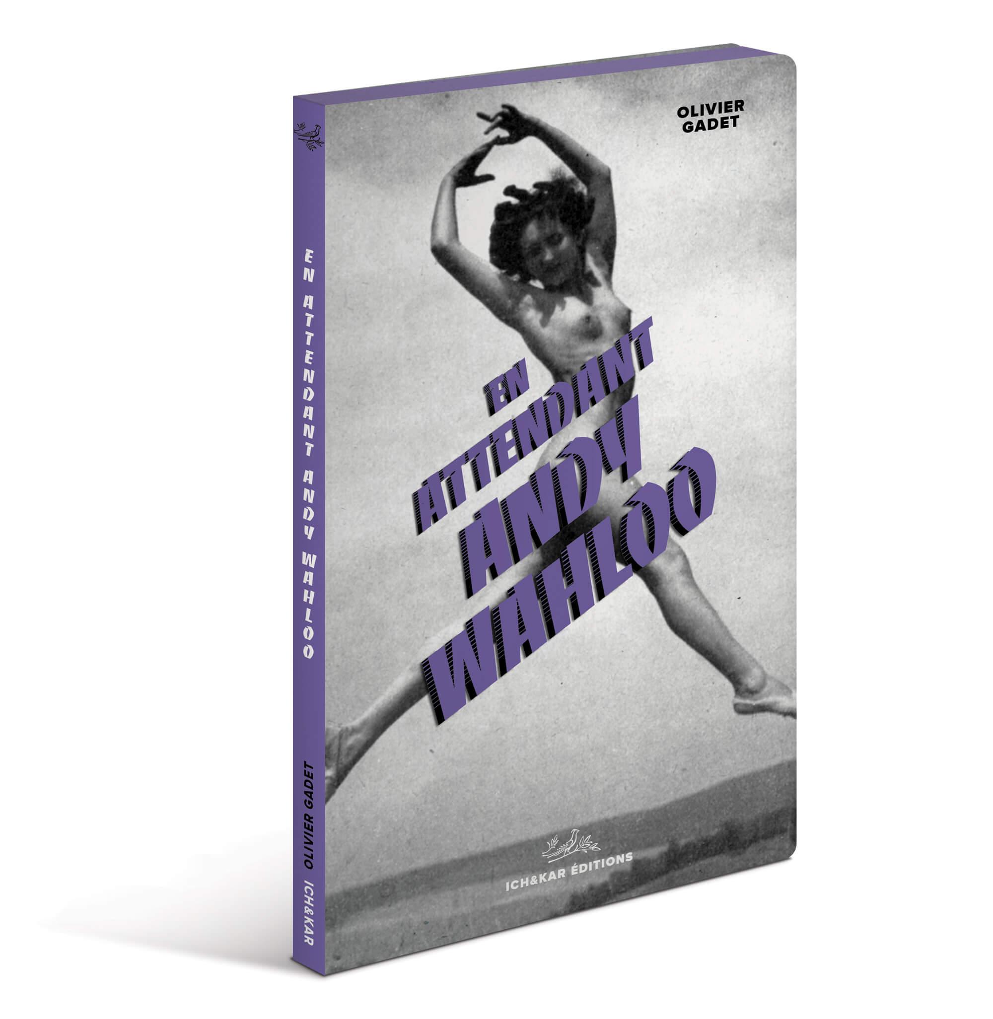 La carte-livre 2019 du bar Parisien Andy Wahloo est un recueil de nouvelles écrit par Olivier Gadet avec la carte des alcools en bas de page, design Ichetkar