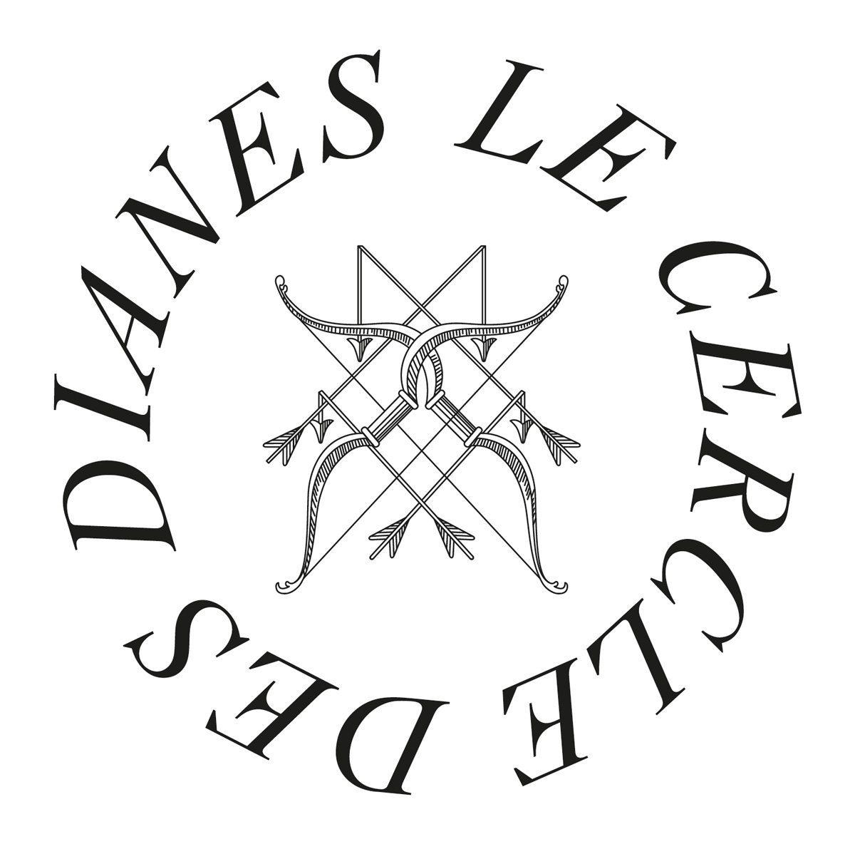 Le cercle des dianes logotype d'Ich&Kar hommage au chateau d'anet