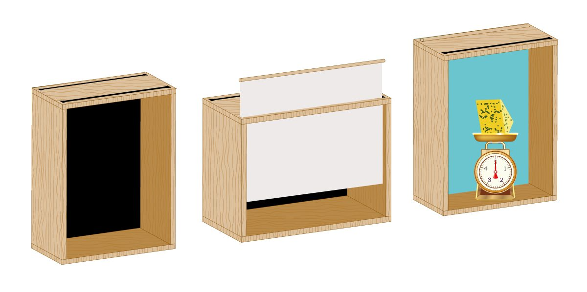 french cheese board animation boxes by ichetkar