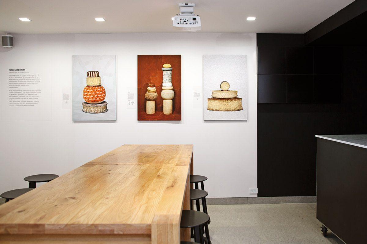 French Cheese Board Pascal Perich pieces montees par jean jacques pallot direction artistique ichetkar