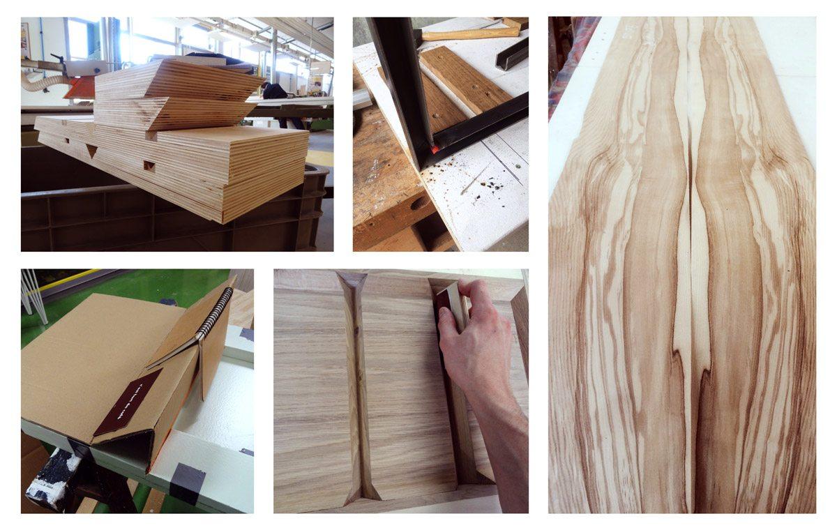 table de guillaume butin pour ichetkar fabrication