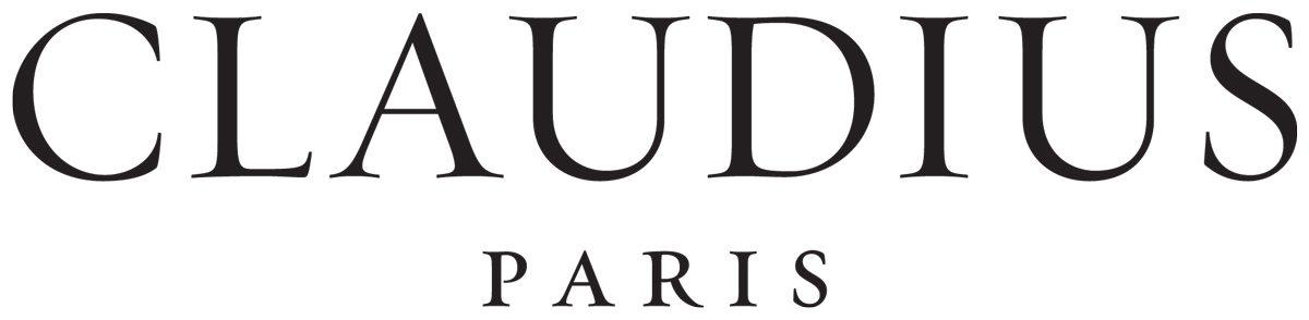Logo de la marque de cosmétique Claudius Paris, design IchetKar