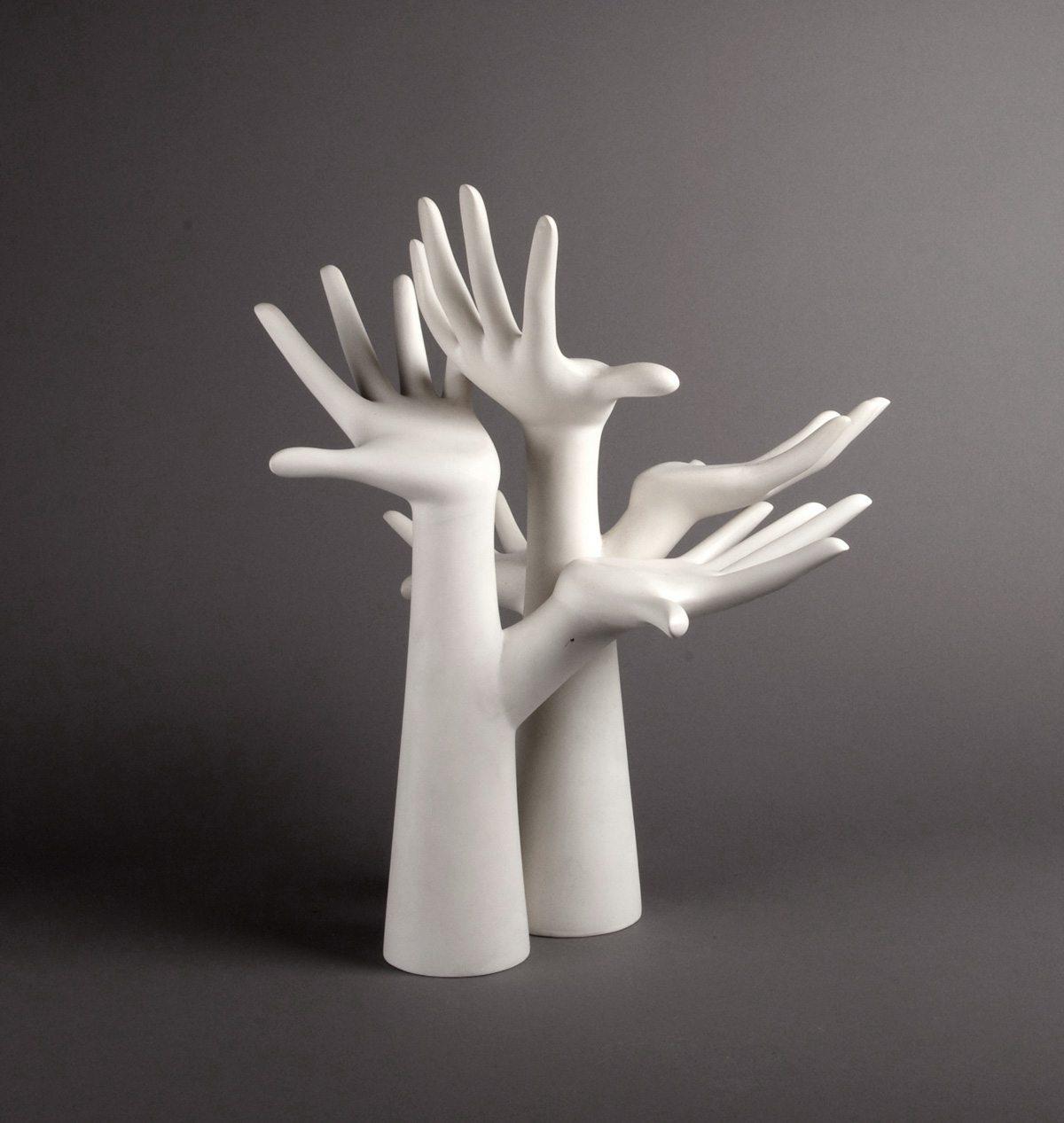 arbres à main ichetkar sculpture mains hands