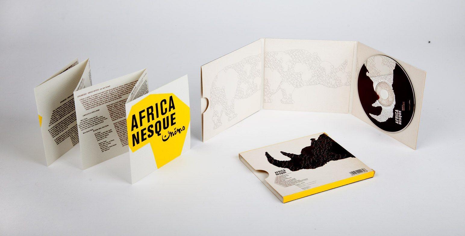 compilation musicale du momo londres africanesque pochette