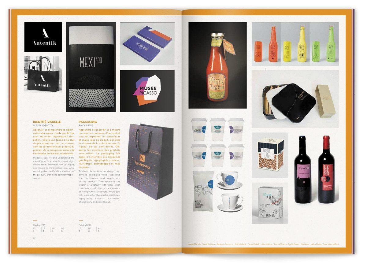 Exemple de packaging réalisé par les étudiant de l'ECV, design IchetKar