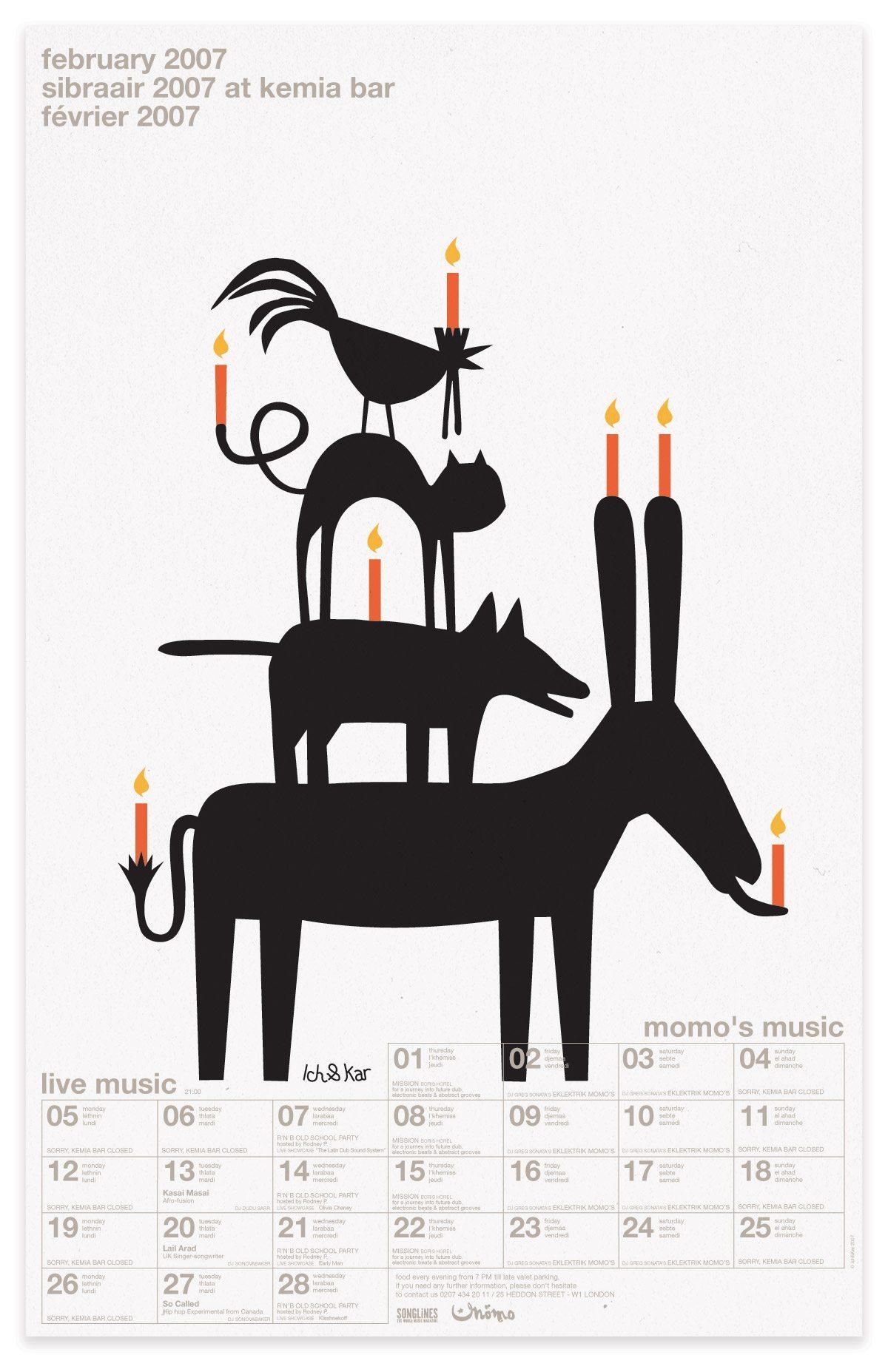 ichetkar diary at momo animaux brême calendrier