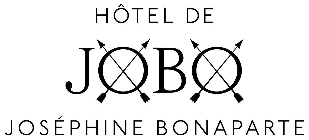 Logo de l'Hôtel de JOBO, dans le marais à Paris, design IchetKar