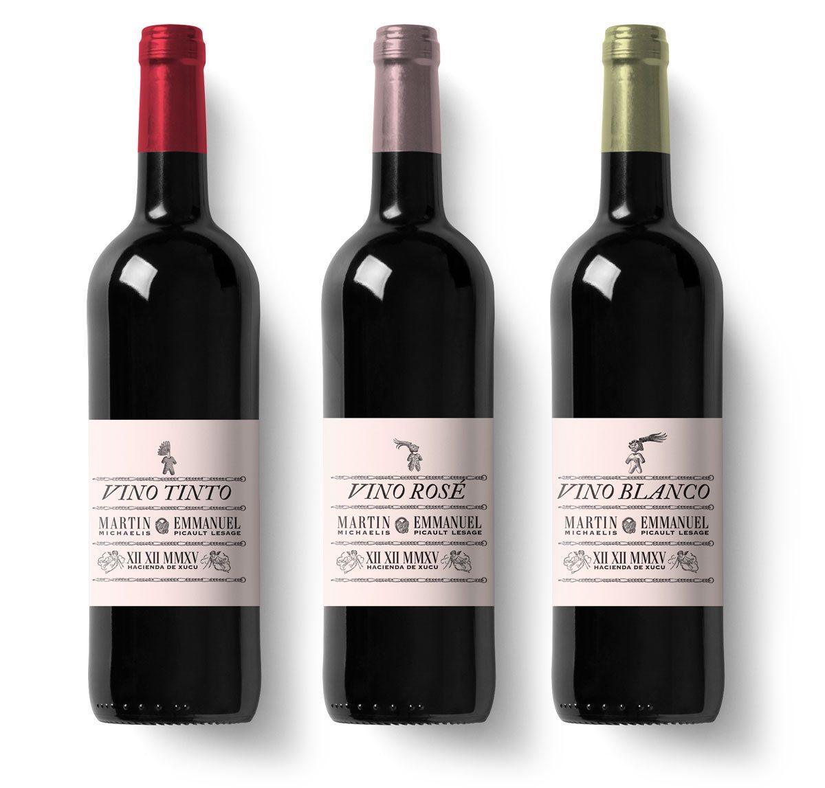 les trois vins du mariage du siècle, la boda del sigle