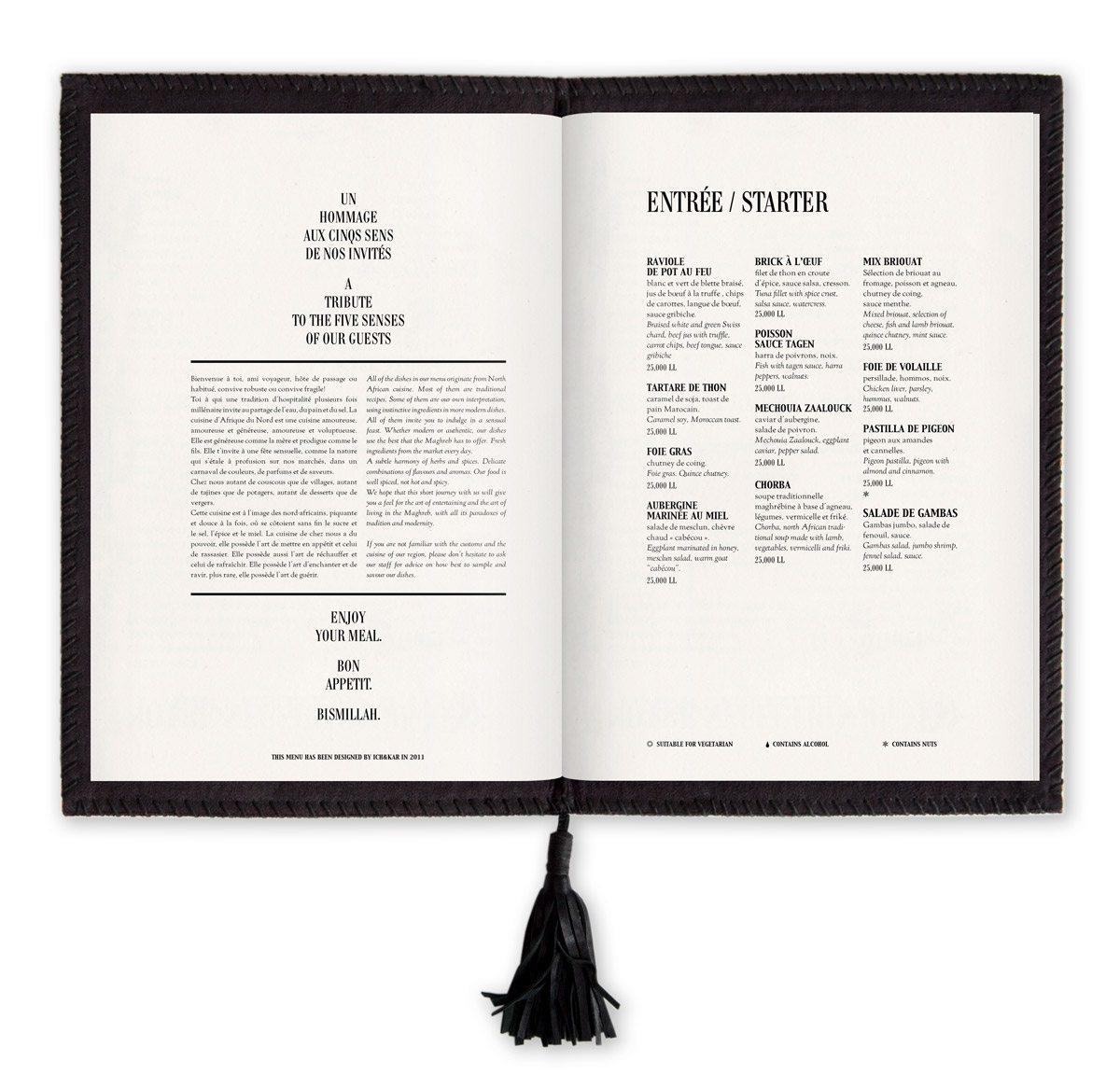 menu momo restaurant londres