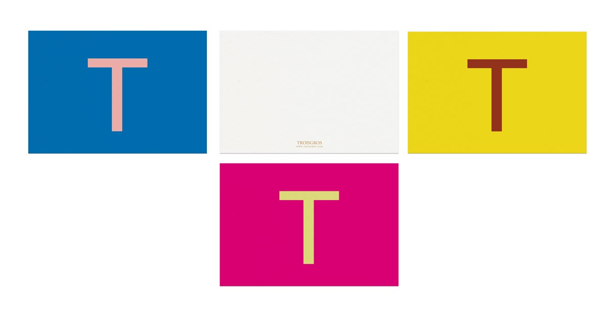 cartes de compliments troisgros dessinée par ich&kar