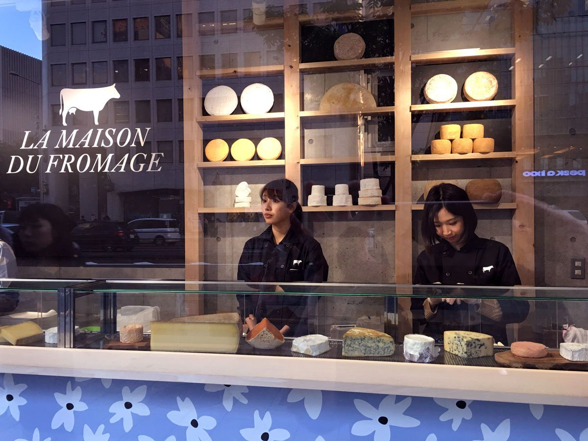 maison du fromage tokyo dégustation fromages fromagères