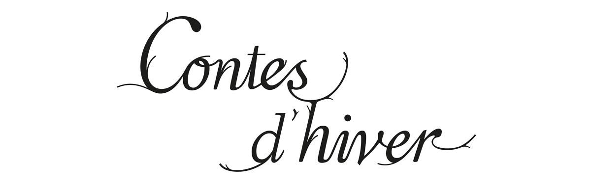 lettering contes d'hiver design ich&kar pour sèvres cité de la céramique