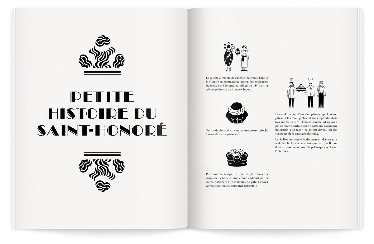 histoire du saint-honoré illustrations pictogrammes ichetkar