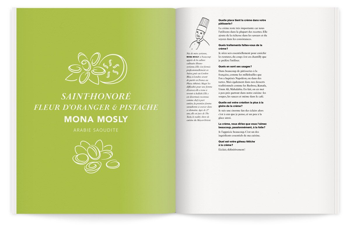 mona mosly saint-honoré baklava illustration ichetkar